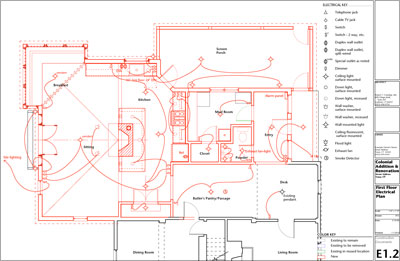 Electrical floor plans houses | House plan